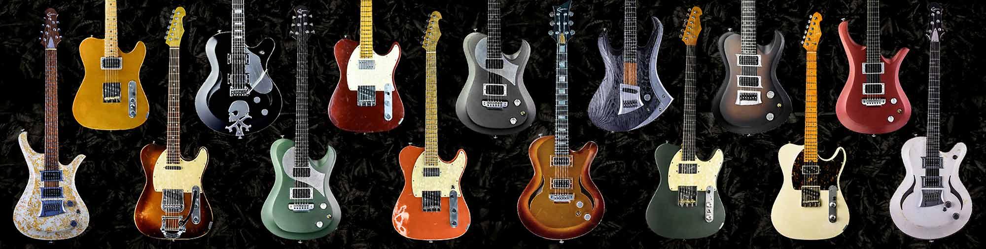 Cyan Custom Shop - guitars in stock