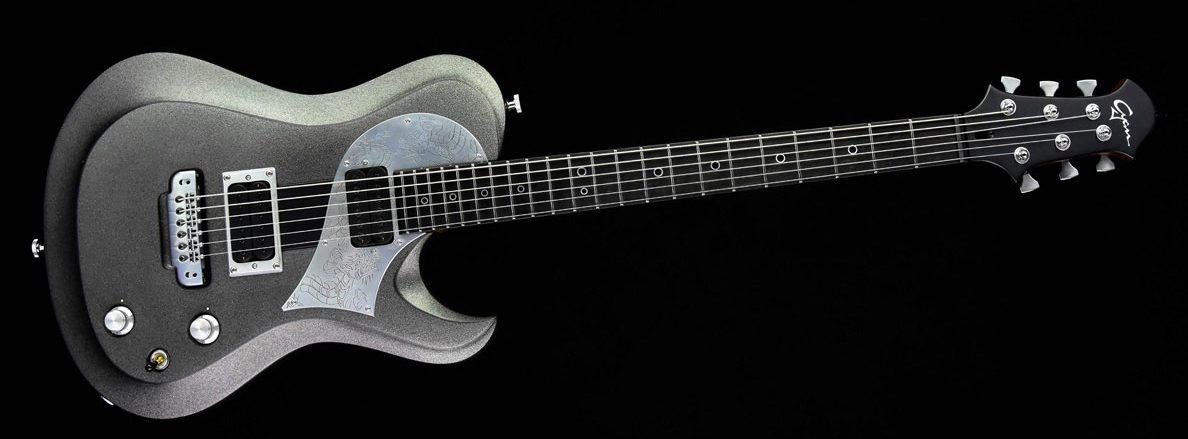 Ultimate - Silver Dragon | Cyan Guitars