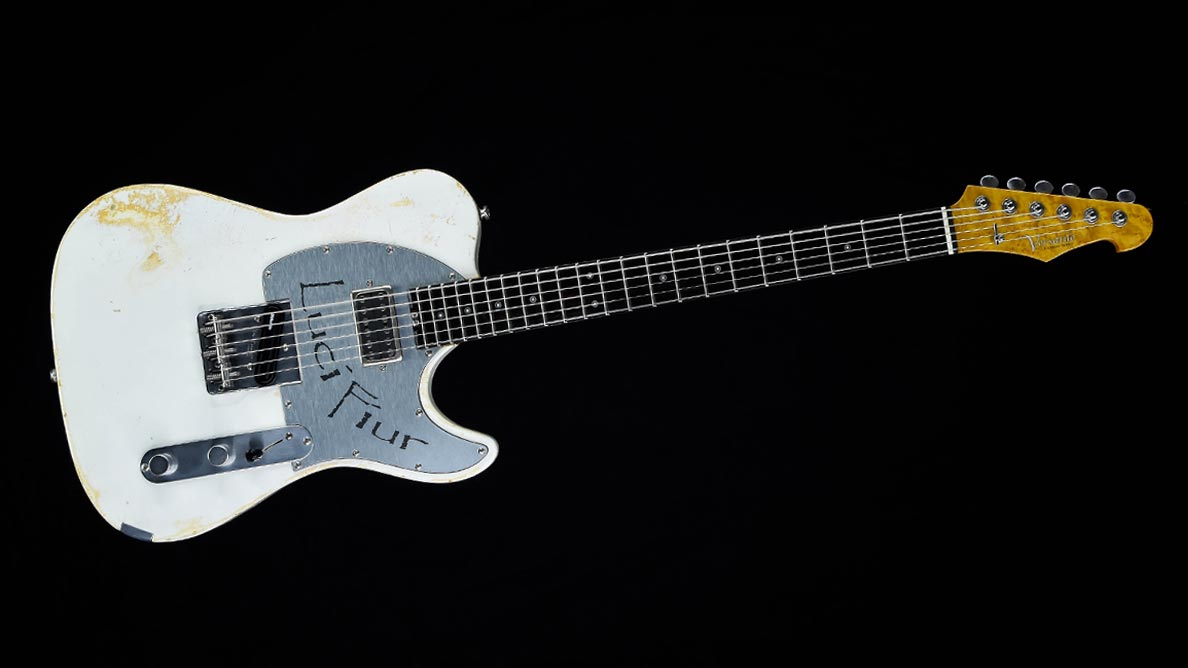 Versatile T-style guitar Lucifiur Customized Guitar Gallery