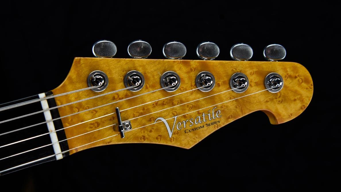 Versatile T-style guitar Lucifiur Guitar Gallery - Headstock