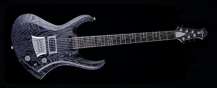 "Zodiac - 30,8"" 7-String Baritone custom made guitar - extended range"