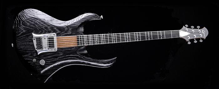 "Zodiac - 29"" Baritone - Blackburst | Cyan Guitars"