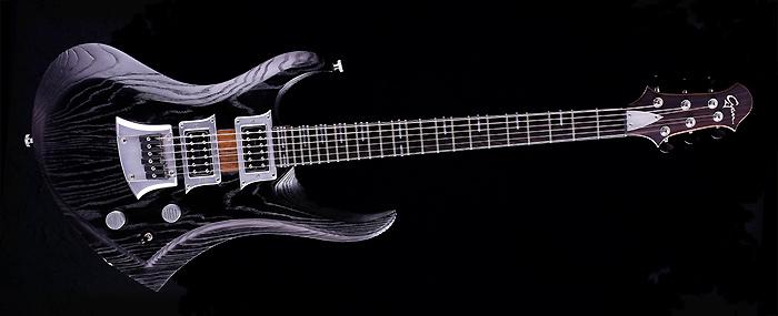 Zodiac - Blackburst - custom made guitar for rock and metal