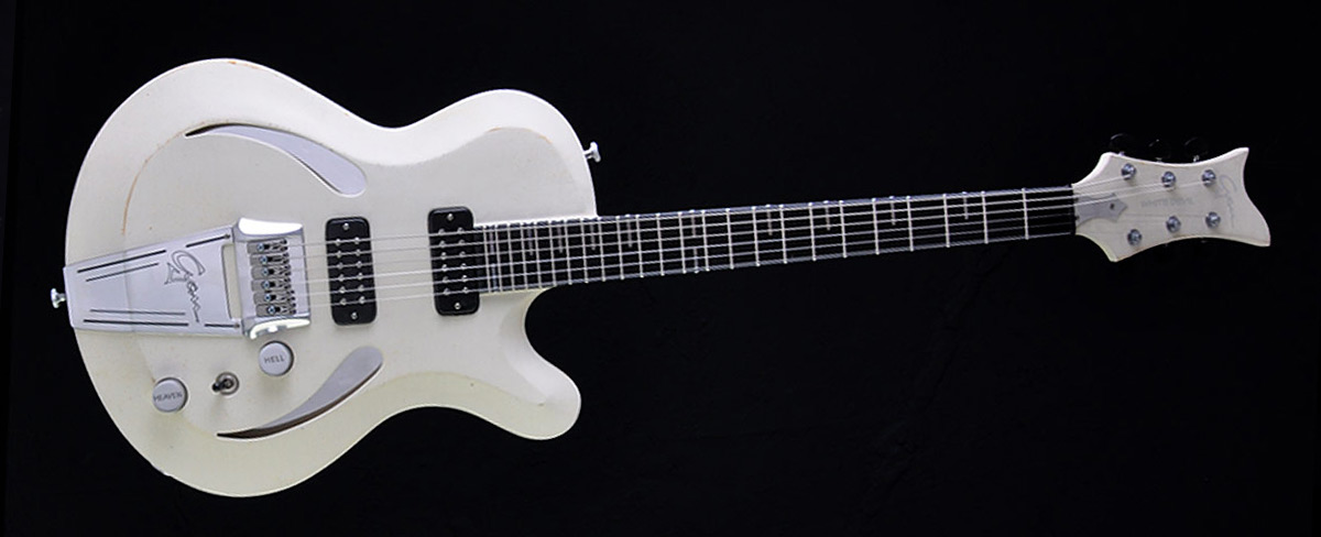 White Devil - Custom Guitar