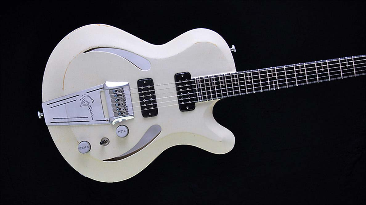 Breed - White Devil - Custom Guitar