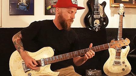 Gitarrensounds Hellcaster - Keile - Living Colour