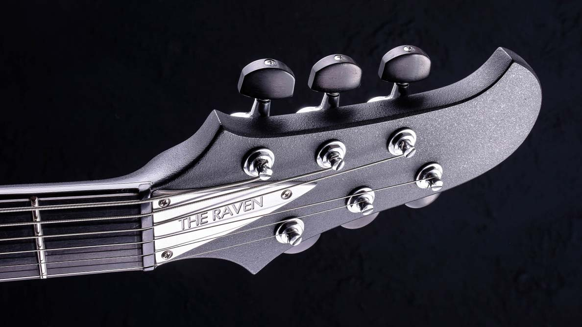 "Raven Bariton - 29"" Mensur - Cyan Custom Guitars"