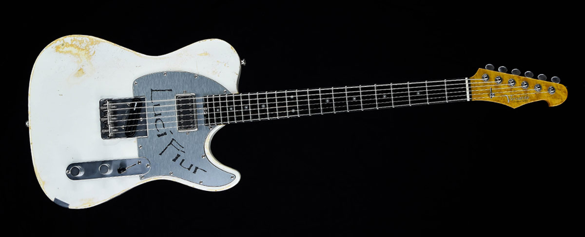 Customized Guitar Gallery - Versatile T-style guitar - Lucifiur