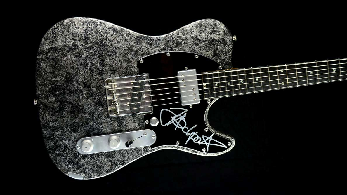 Customized Guitar Gallery - Versatile T-style guitar