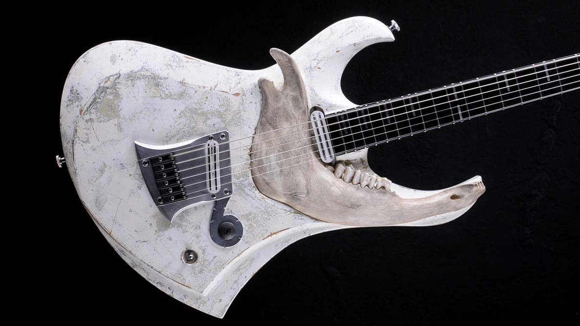 "Zodiac Baritone ""With Teeth"" - Customized Guitar Gallery"
