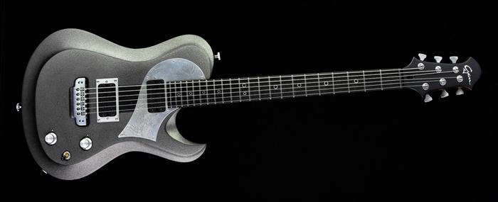 Ultimate Rhythm Guitar - Silver Dragon - Cyan Guitars
