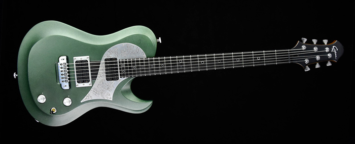 Ultimate Rhythm Guitar - Green Dragon - Cyan Guitars