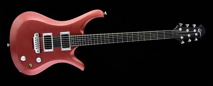 Ultimate Rhythm Guitar V6 - Metallic Cherry - Cyan Guitars