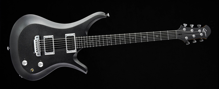 Ultimate V6 - Silver Burst - Metal Custom Guitar