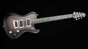 "Hellcaster 7 - 27,6"" 7-String Gitarre - Copperfade - Frontansicht"