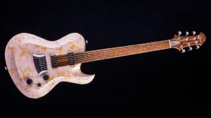 Hellcaster Rock Gitarre - Double Dragon | Cyan Guitars - Frontansicht