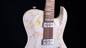 Hellcaster Rock Gitarre - Double Dragon - Schlagbrett