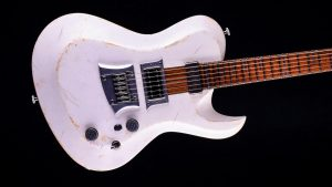 Hellcaster Rock Gitarre - Players White - Body