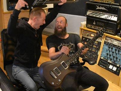 Jens Bogren - Producer and Cyan Guitars