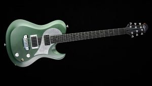Ultimate - Green Dragon - Metal Gitarre - Frontansicht