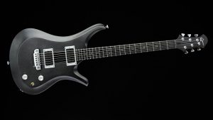 Ultimate - Silver Burst - Rock & Metal Gitarre - Frontansicht 2