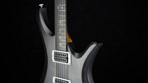 Ultimate - Silver Burst - Rock & Metal Gitarre - Schlagbrett seitlich