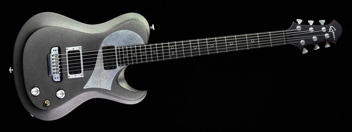 Ultimate - Silver Dragon - Metal Gitarre - Frontansicht