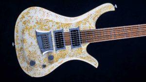 "V7 - 29"" 7-String Bariton Gitarre - Living Colour - Body"