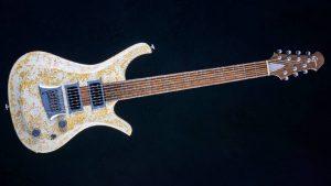 "V7 - 29"" 7-String Bariton Gitarre - Living Colour - Frontansicht"