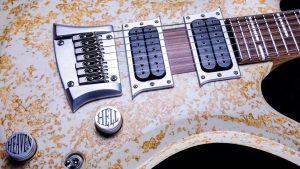 "V7 - 29"" 7-String Bariton Gitarre - Living Colour - Pickups + Brücke"