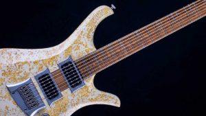 "V7 - 29"" 7-String Bariton Gitarre - Living Colour - Griffbrett"