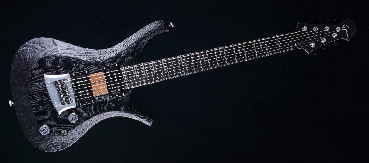 """V7 - 27,6"""" 7-String Bariton Gitarren - Blackburst"""
