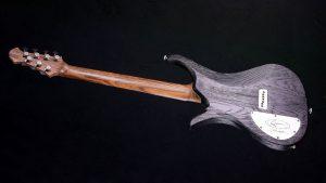 "V7 - 27,6"" 7-String Bariton Gitarren - Blackburst - Rückansicht"