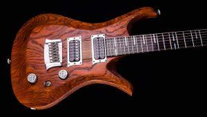 """V7 - 29"""" 7-String Gitarre Bariton - Tobaccoburst - Body"""