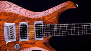 "V7 - 29"" 7-String Gitarre Bariton - Tobaccoburst - Schlagbrett"