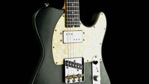 Versatile T-Style Gitarre - Green Classic - Pickup + Bridge