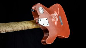 Versatile - T-Style Gitarre - Orange Drop - Rückansicht