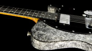 Versatile - T-Style Custom Guitars - Silver Camo - Seitenansicht