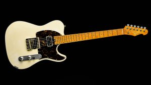 Versatile T-Style Gitarre - Vintage White - Frontansicht