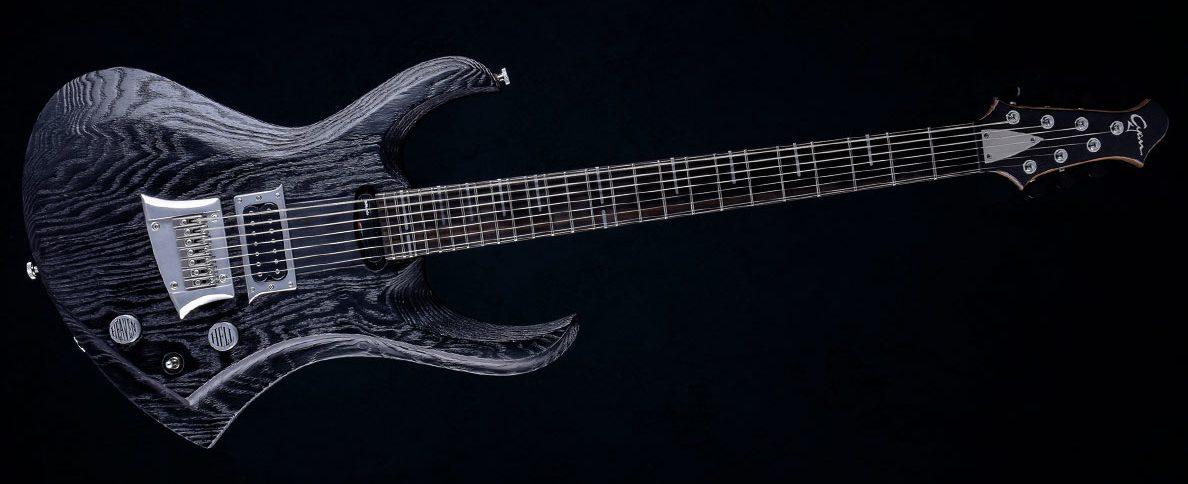 """Zodiac 7 - 30,8"""" 7-String Bariton Gitarre - Blackburst (ext. range)"""
