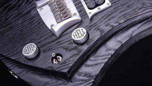 "Zodiac 7 - 30,8"" 7-String Bariton Gitarre - Blackburst (ext. range) - Elektronik"