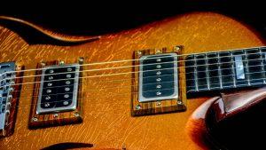 Breed Golden Age - Custom Gitarre - Schlagbrett