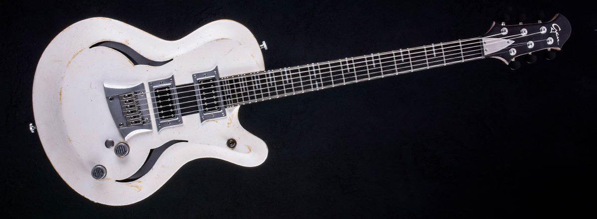 Breed - Players White - Die moderne Oldschool Gitarre