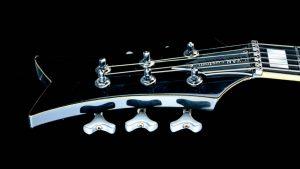 Black Hawk - FU Custom Gitarre - Kopfplatte