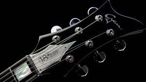 Farin Urlaub Signature Gitarre - Hals mit Seriennummer
