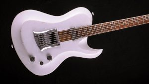 Hellcaster - Bariton Gitarren - Players White - Body