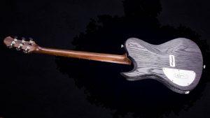 Hellcaster - Custom Guitar - Blackburst - Rückansicht