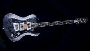 Hellcaster - Bariton Gitarren - Blackburst - Frontansicht