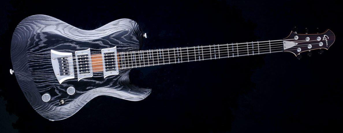 Hellcaster - Bariton Gitarren - Blackburst