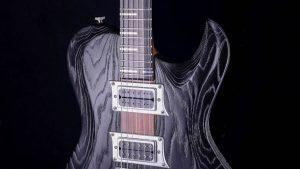 Hellcaster - Bariton Gitarren - Blackburst - Schlagbrett